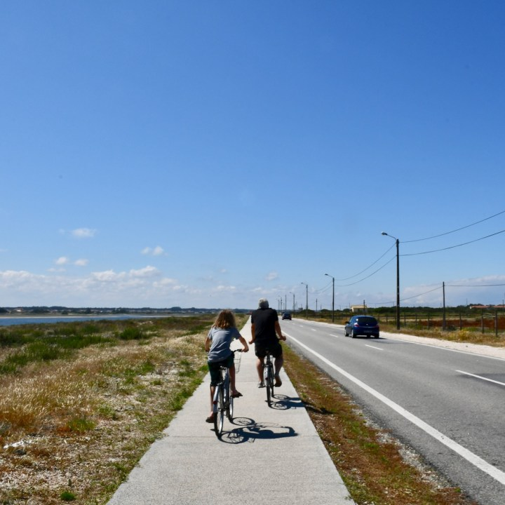 Praia da Vagueira bike ride