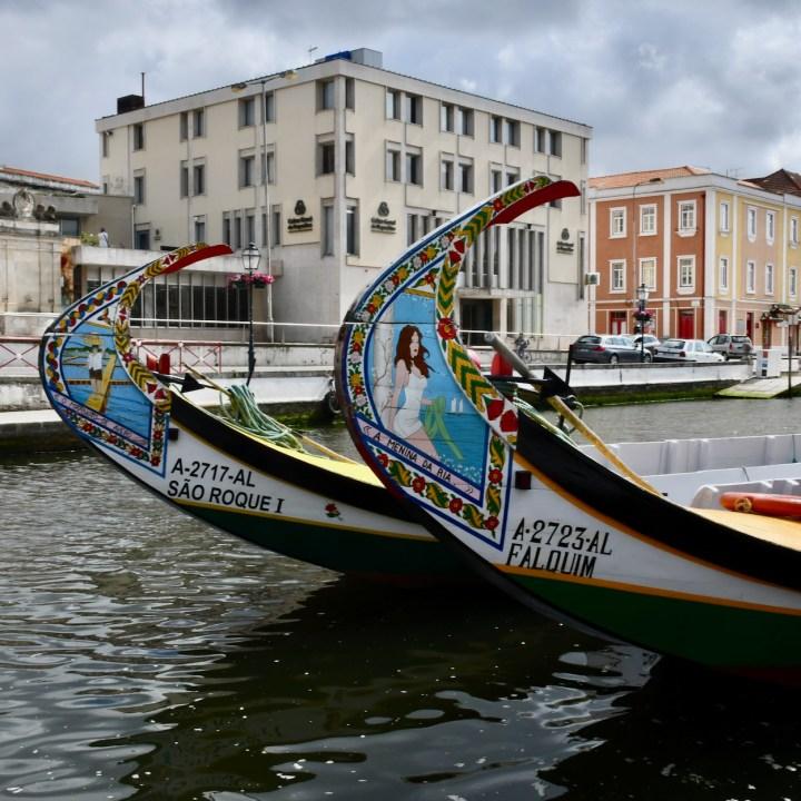 Aveiro Portugal canal boats