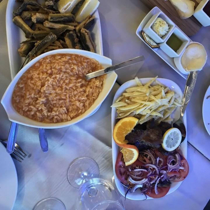 Costa Nova Portugal local food