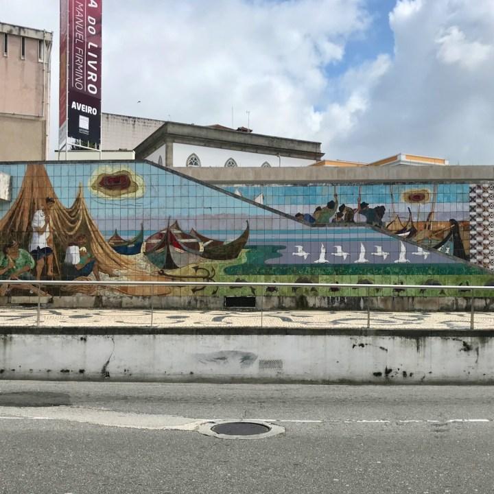 Aveiro Portugal tile mural
