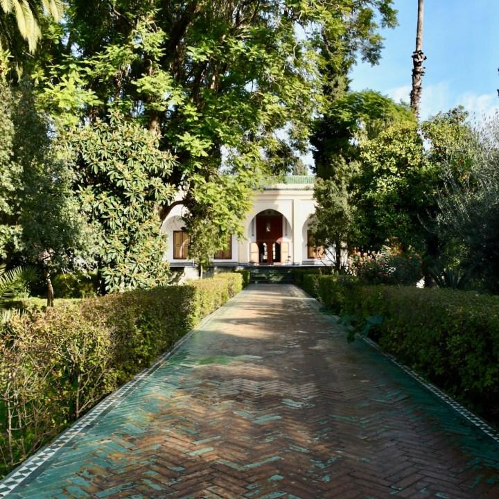 Batha Museum Fez garden path