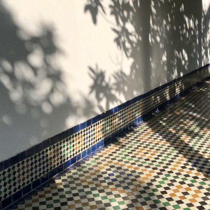 Batha Museum shadows
