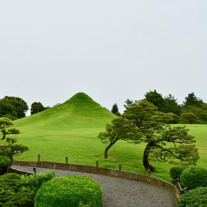 Suizenji Jojuen Kumamoto mount fuji