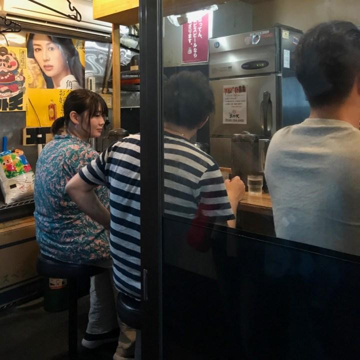 Kumamoto ramen restaurant