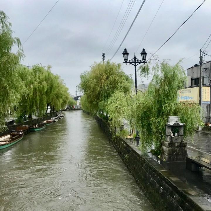Yanagawa canal view