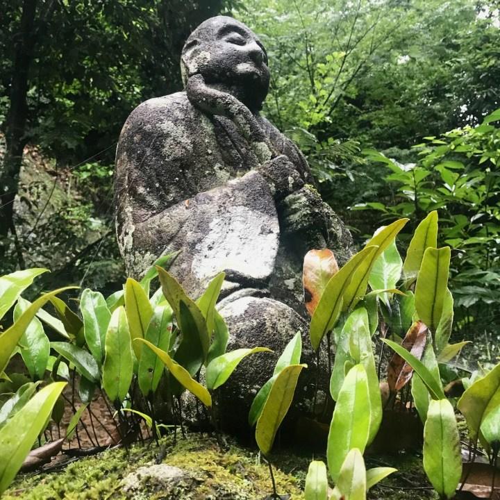 Reigandoji stone statue