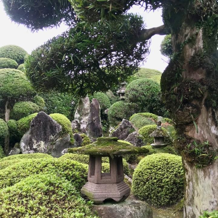 Chiran samurai residence stone garden