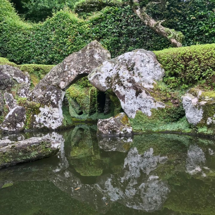 Chiran samurai residence pond