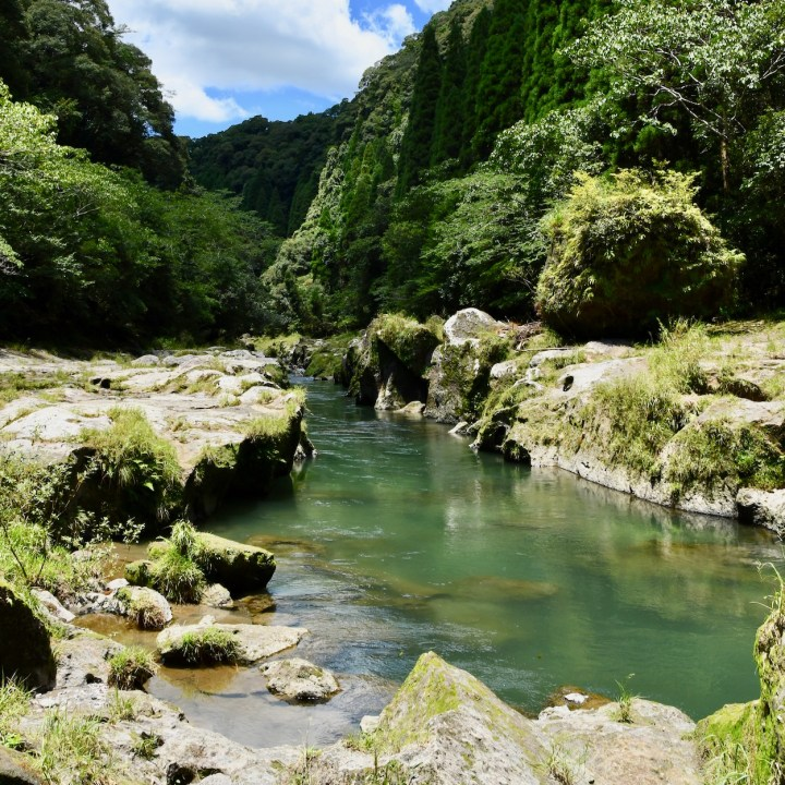 Kirishima, Japan | Take a Stroll Along the Magical Amori River, a bath at Chikurin Hot Spring 竹林の湯 and Visit the cute Totoro Bus Stop