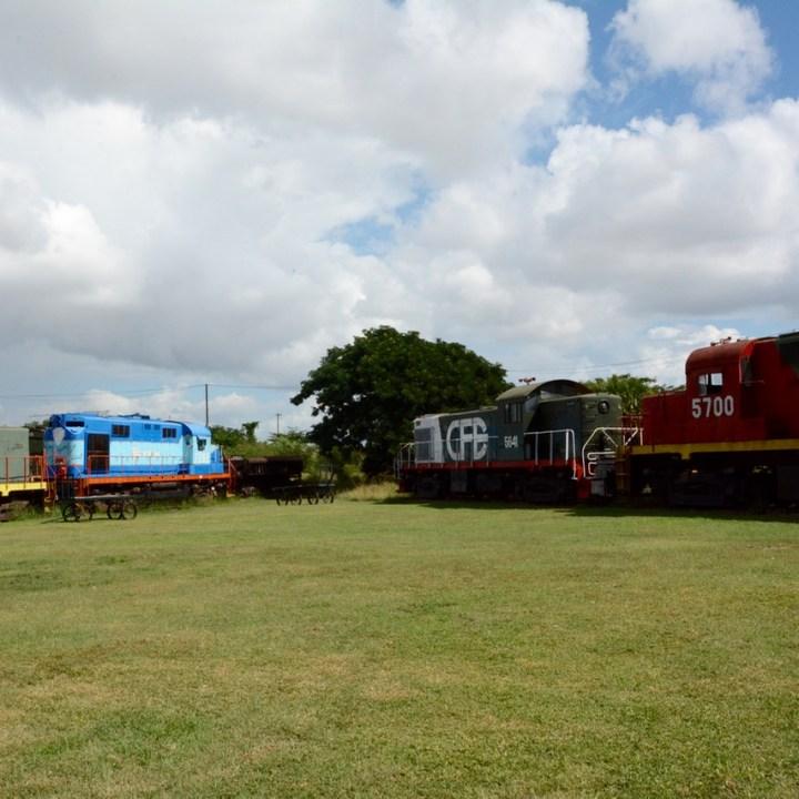 Merida Railroad Museum diesel engines