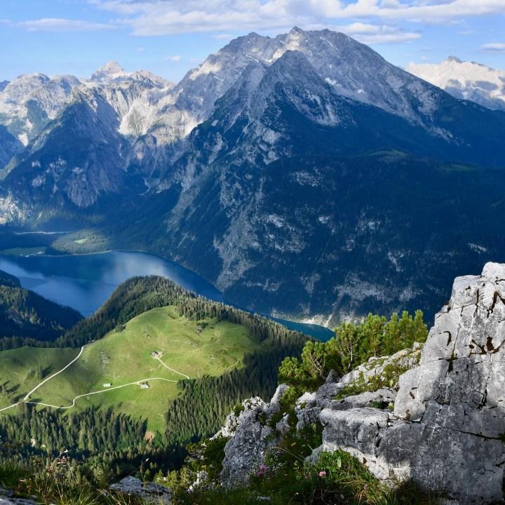 Jenner peak view Koenigsee