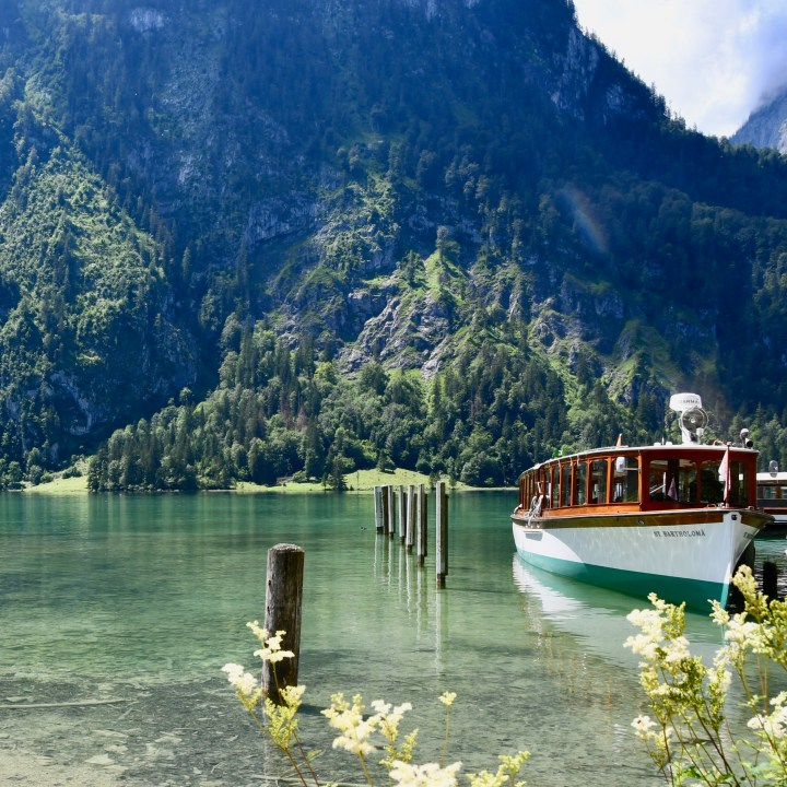 Koenigsee boat ride Salet
