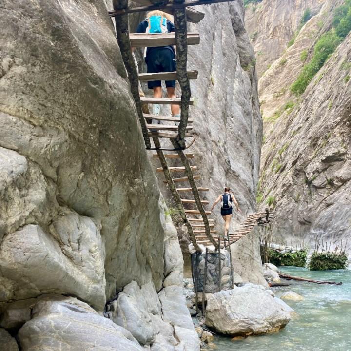 Albania, Valbona valley, Gashi gorge hike