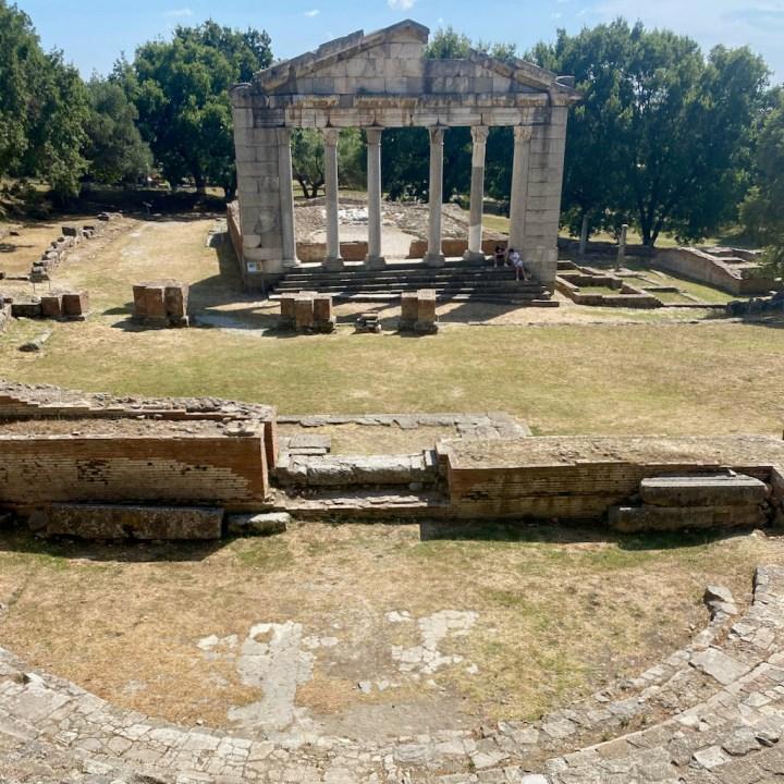 Albania, Vlore, Apolonia Archeological Park