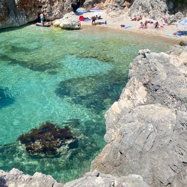 Albania, Himare, Aquarium Beach