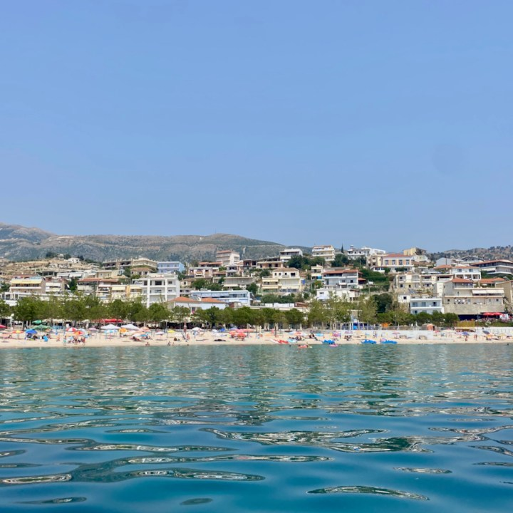 Albania, Himare, beach