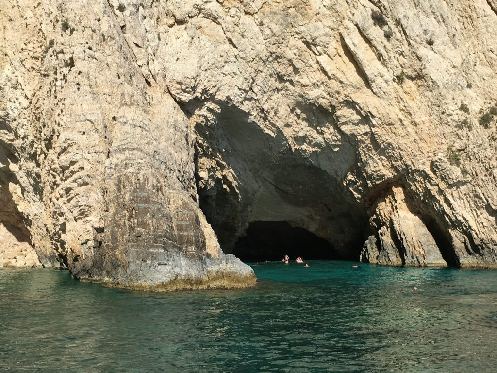 Things to do Zante - Cave swimming