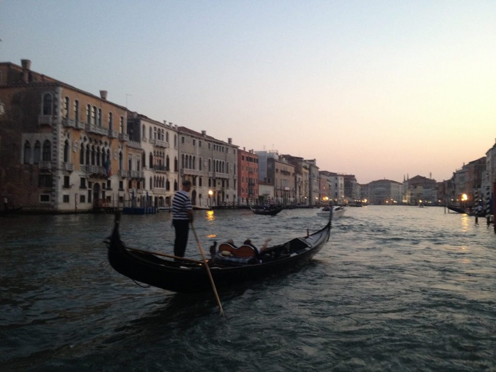 Things to do Venice Italy Gondola
