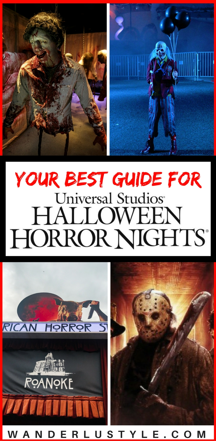 Best Guide for Universal Studios Halloween Horror Nights - The Walking Dead, American Horror Story, Haunted Maze, Terror Tram, Chucky, Universal Studios Tips, Halloween Horror Nights Tips | Wanderlustyle.com