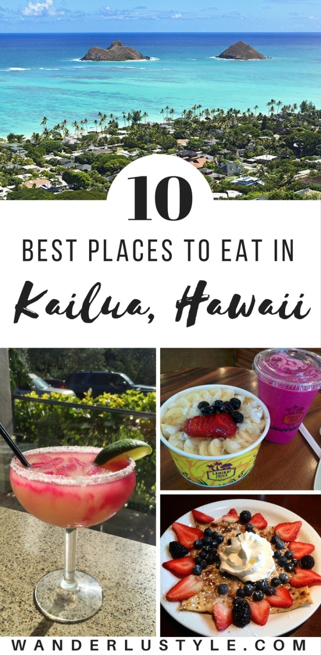 Best Places to Eat in Kailua, Hawaii - Hawaii Food Places, Chinatown Food, Honolulu Food Places #HawaiiFood #BestofHawaii #HawaiiTips #HawaiiTravelTips | Wanderlustyle.com