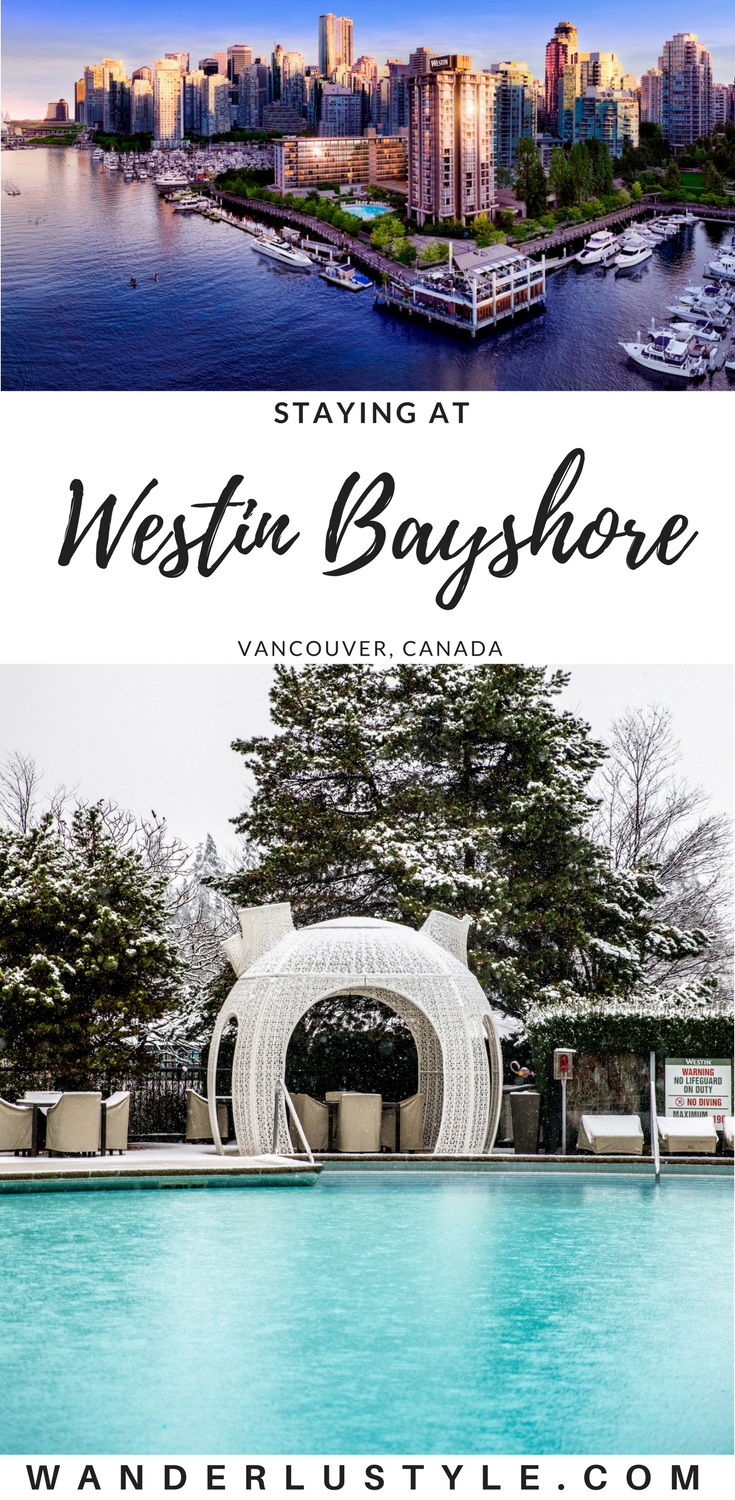 Staying at Westin Bayshore Hotel in Vancouver - Where to stay in Vancouver, Vancouver Hotels, Best in Vancouver | Wanderlustyle.com