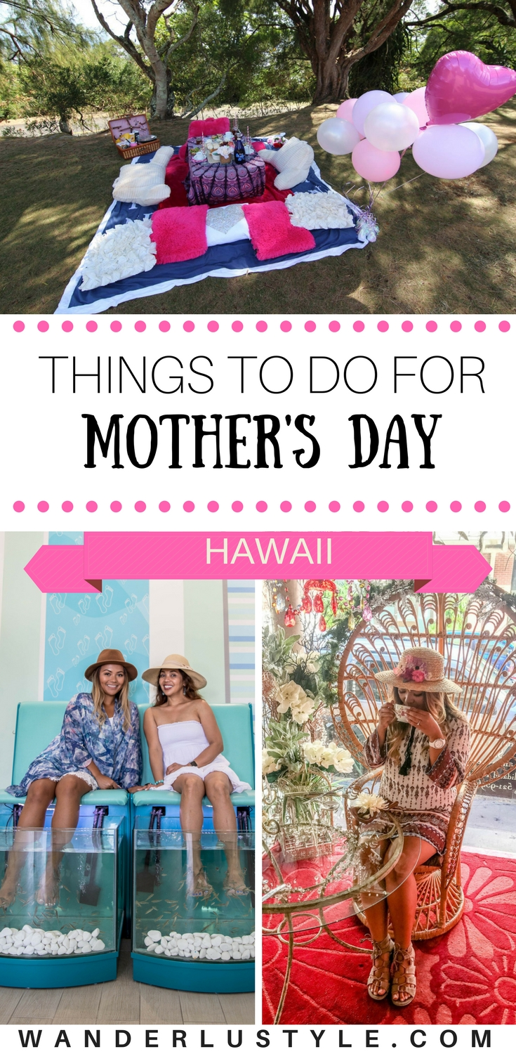 Things To Do for Mother's Day in Hawaii - Hawaii Tips, Hawaii Travel, Mother's Day, Mother's Day Celebration, Oahu Tips | Wanderlustyle.com