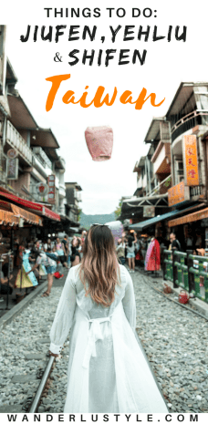 Things To Do in Jiufen, Yehliu, and Shifen in Taiwan | Taiwan Tours, Taiwan Day Tour, Lantern Shifen Old Street, Taiwan Travel Guide | Wanderlustyle.com