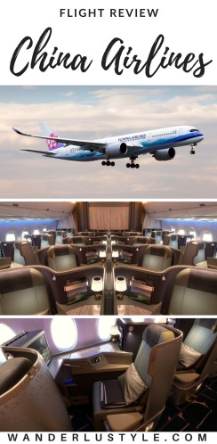China Airines Review - Honolulu to Taiwan, China Airlines Review, China Airlines, Flying with China Airlines, Airline Review | Wanderlustyle.com