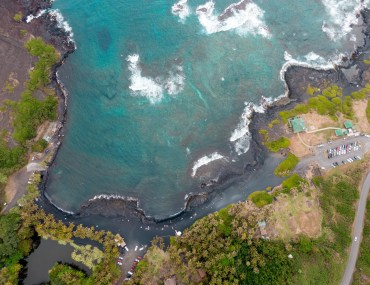 Punaluu Black Sand Beach - Big Island, Hawaii, Big Island Travel, Things to do Big Island, Big Island Hawaii, Big Island Tips, Hawaii Travel