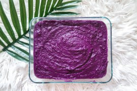EASY UBE HALAYA RECIPE USING POWDERED PURPLE YAM - ube halaya,ube,filipino ube,filipino ube halaya,ube halaya recipe,ube powder,ube powder recipe,ube halaya using ube powder,filipino dessert,filipino snack,easy ube halaya,how to store ube halaya,how to store ube,ube recipe,best ube recipe,how to make ube,how to make ube halaya,asian dessert,ube dessert,what is ube,ube jam,how to make ube jam,best ube halaya,best ube jam,filipino cooking,filipino recipe,filipino food,filipino,filipino foodie, hawaii foodie, oahu foodie, hawaii filipino food | Wanderlustyle.com