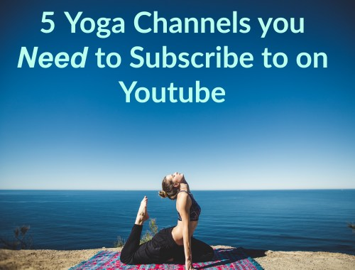 5 yoga channels to subscribe to