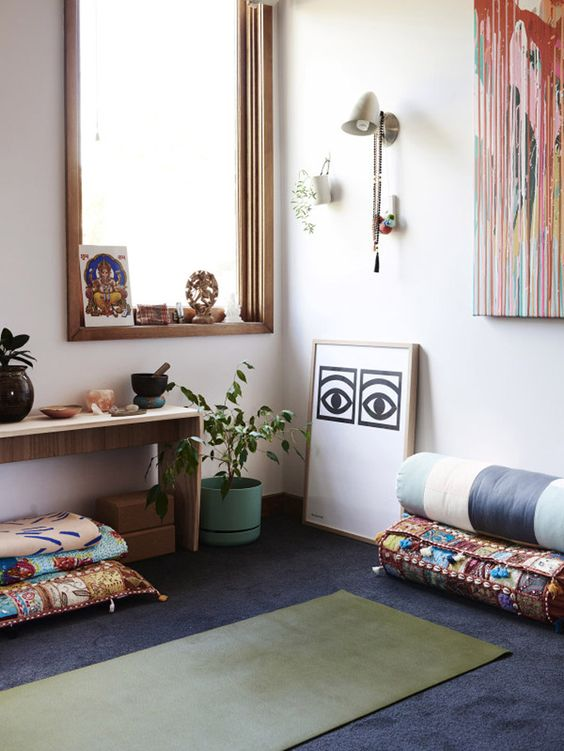 Dreamy At Home Yoga Space Inspiration - Wanderly Blog