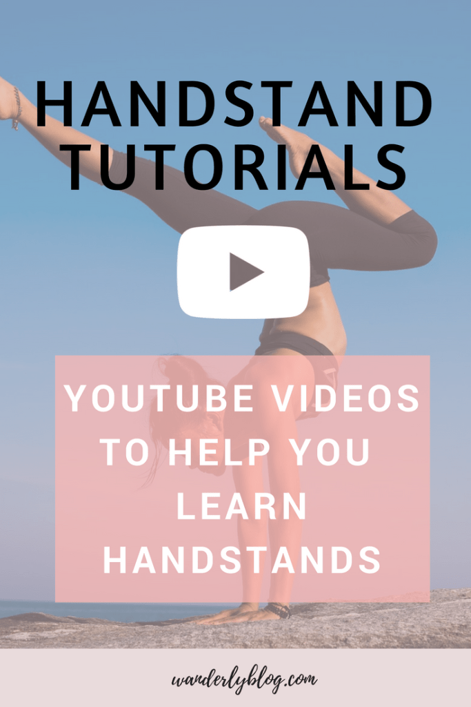 These Yoga Youtubes videos will help you learn handstand.