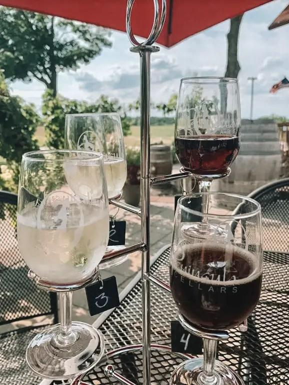 Peninsula cellars wine glasses