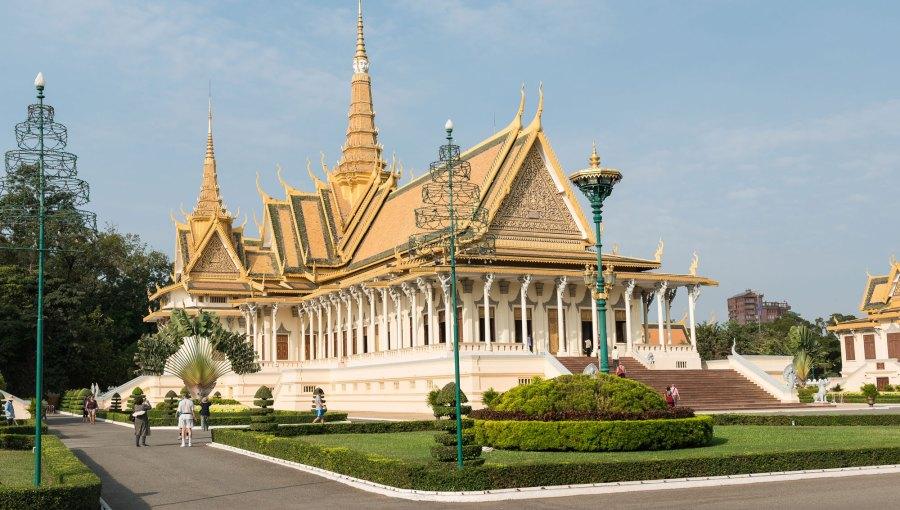 Kambodscha-Koenigspalst