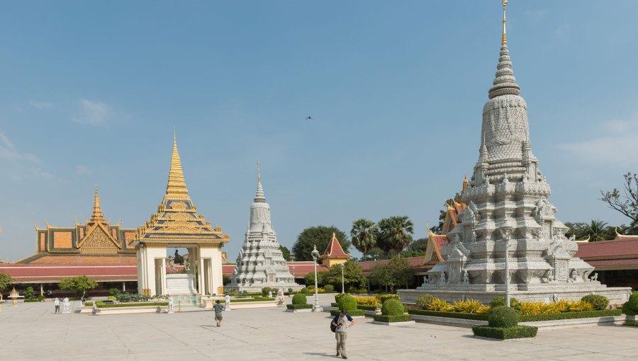Kambodscha-Palast
