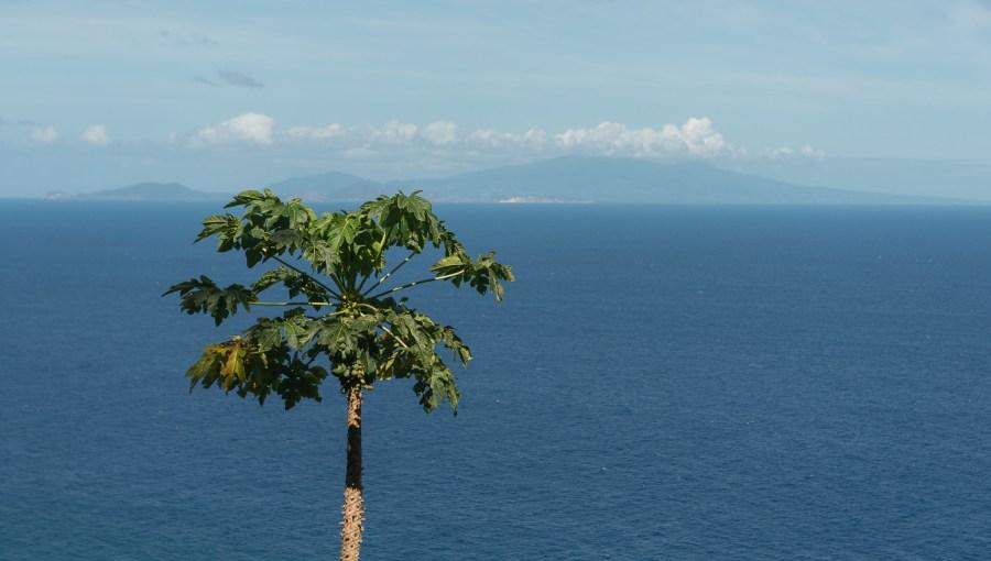 Guadeloupe von Dominika aus