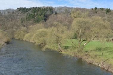 Von der Rüdener Brücke aus