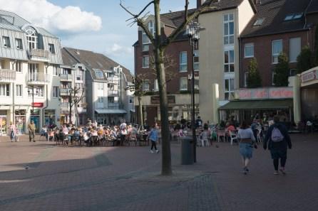 Marktplatz in Leichlingen