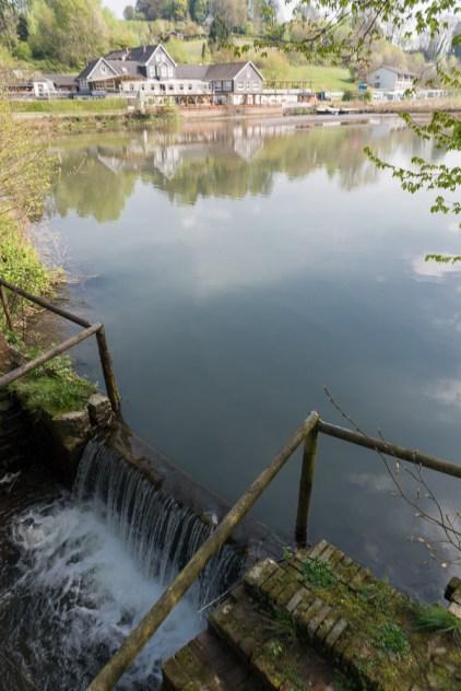 Unterer See um 2 m abgesenkt