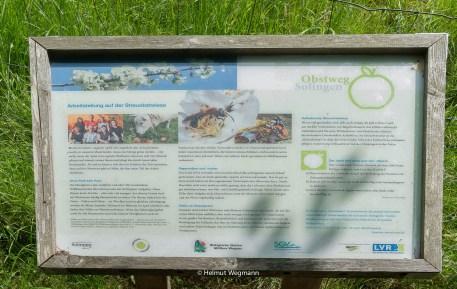 Info-Tafel am Obstweg