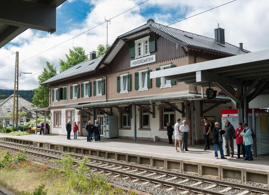 Bahnhof in Hinterzarten