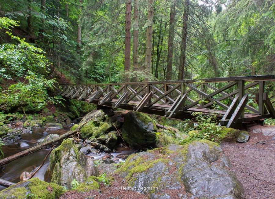 Brücke in der Ravennaschlucht