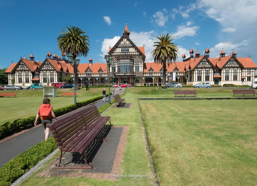 Goverments garden in Rotorua