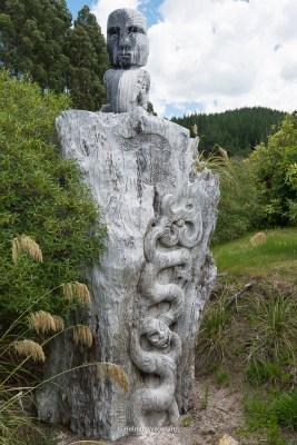 Maori Schnitzerei