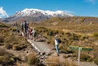 Wanderung im Tongariro NP