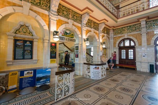Bahnhof in Dunedin