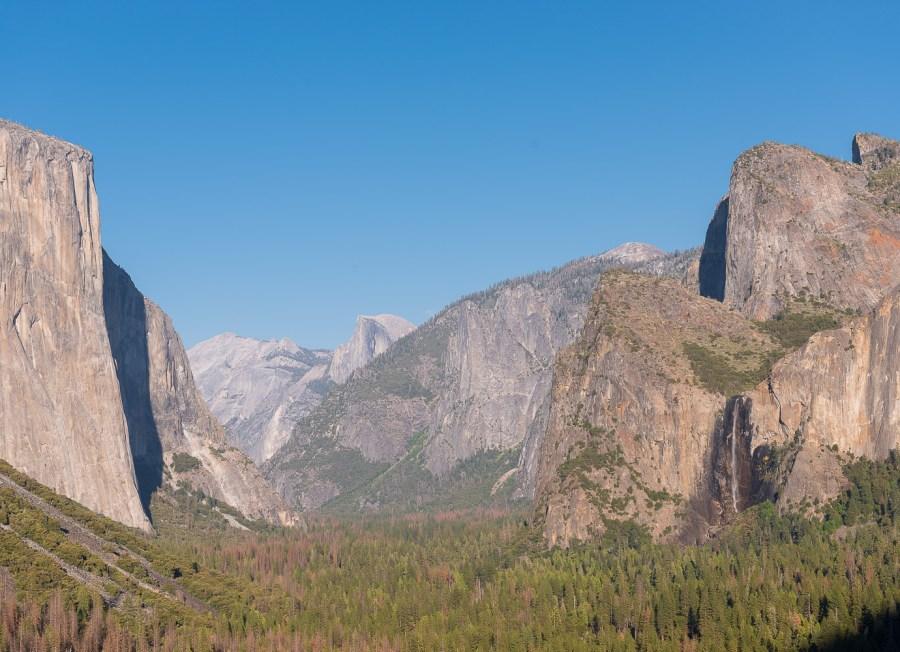 Tunnel View im Yosemite NP