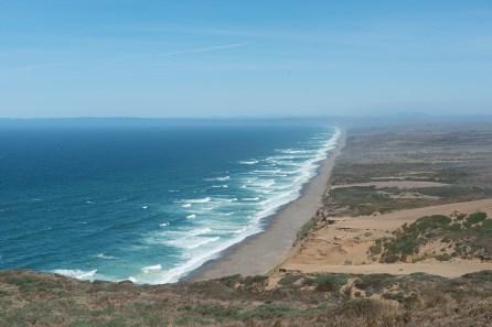 Küstenlinie nördlich von Point Reyes