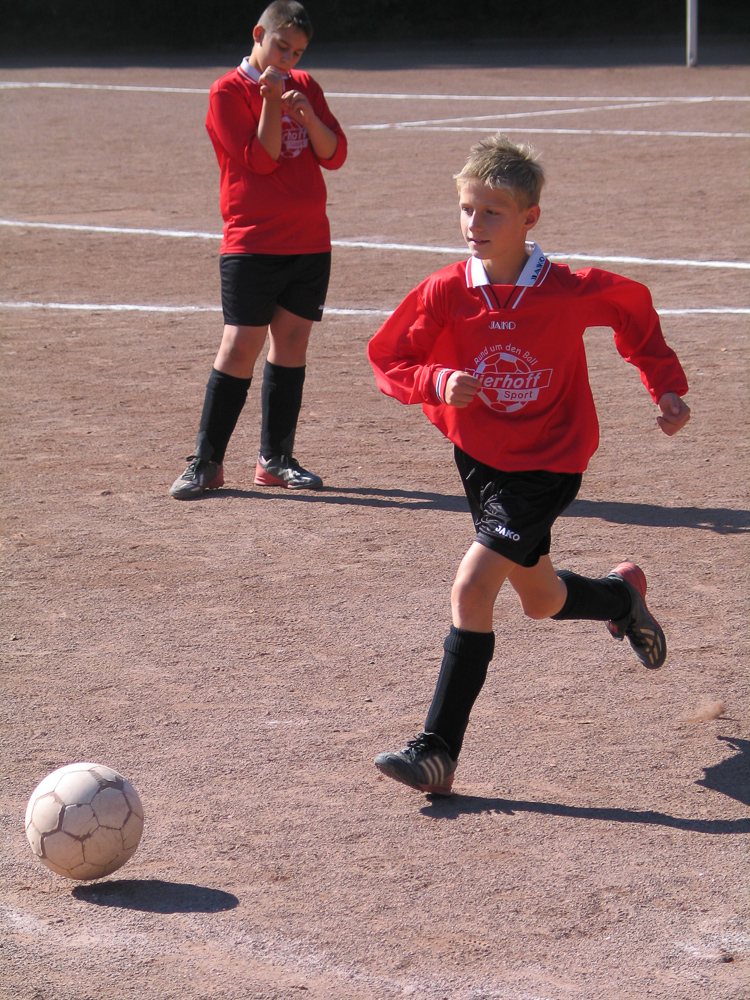 Fussball bei der TG Hilgen